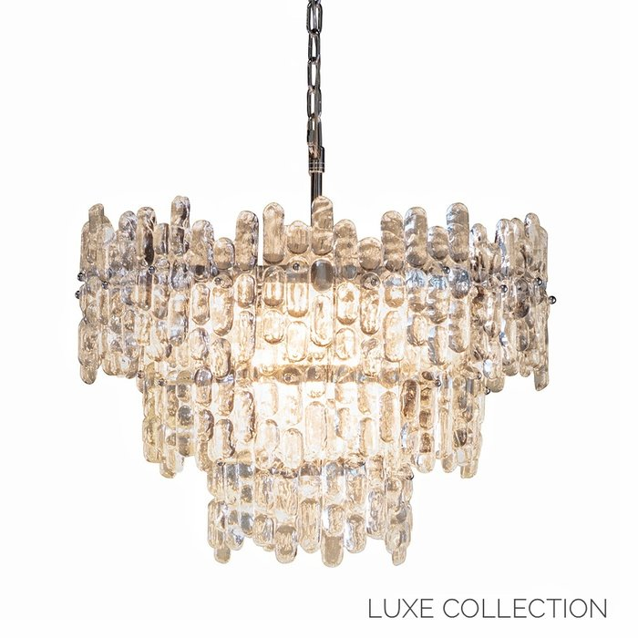 Jove - Melting Ice Crystal Grand Chandelier