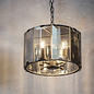 Bevel - Smoked Glass Grey Feature Light  - Small