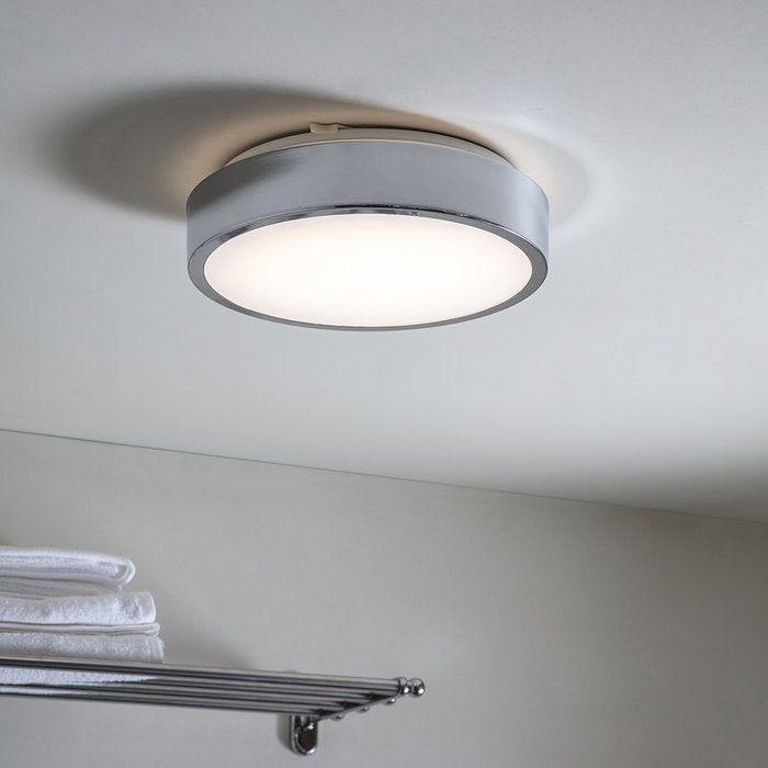 Bevin - IP44 LED Modern Bathroom Flush Light