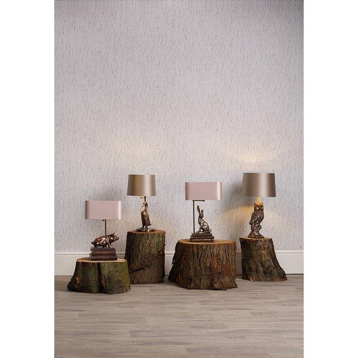Owl Table Lamp - David Hunt