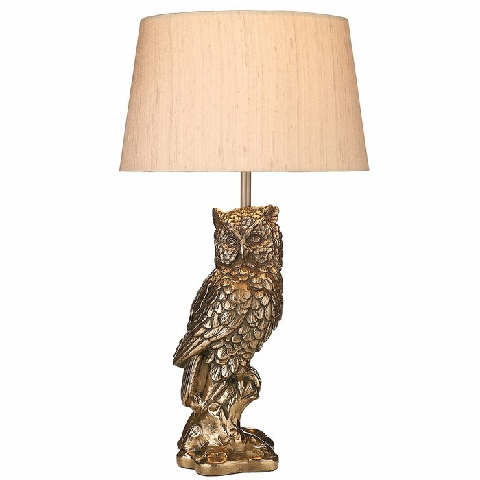 Owl Table Lamp - David Hunt
