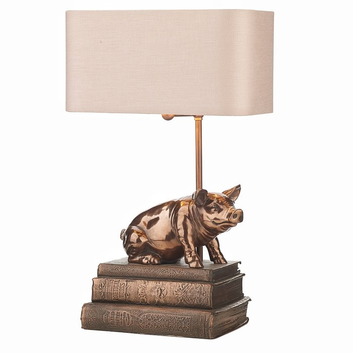 Horace Pig Table Lamp - David Hunt