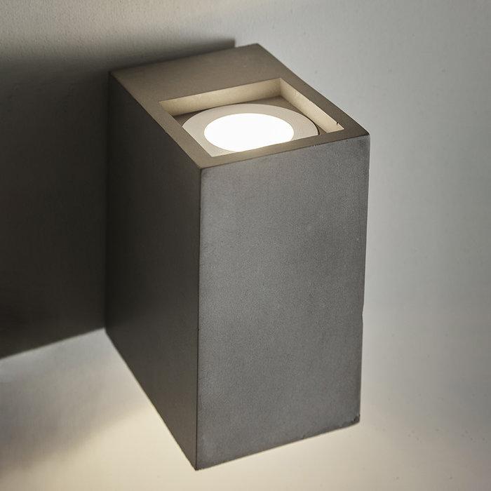 Tor - Concrete Minimalist Up & Down Wall Lights
