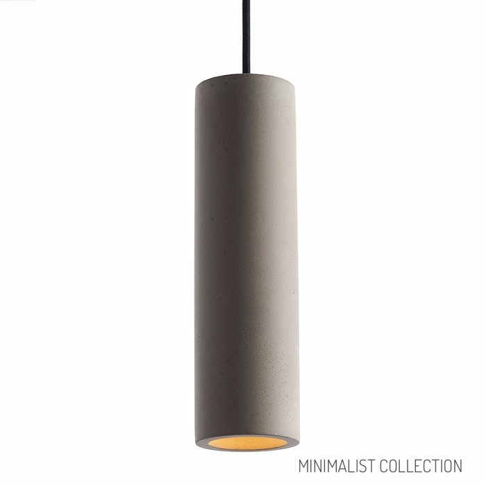 Orion - Minimalist Grey Concrete  Pendant