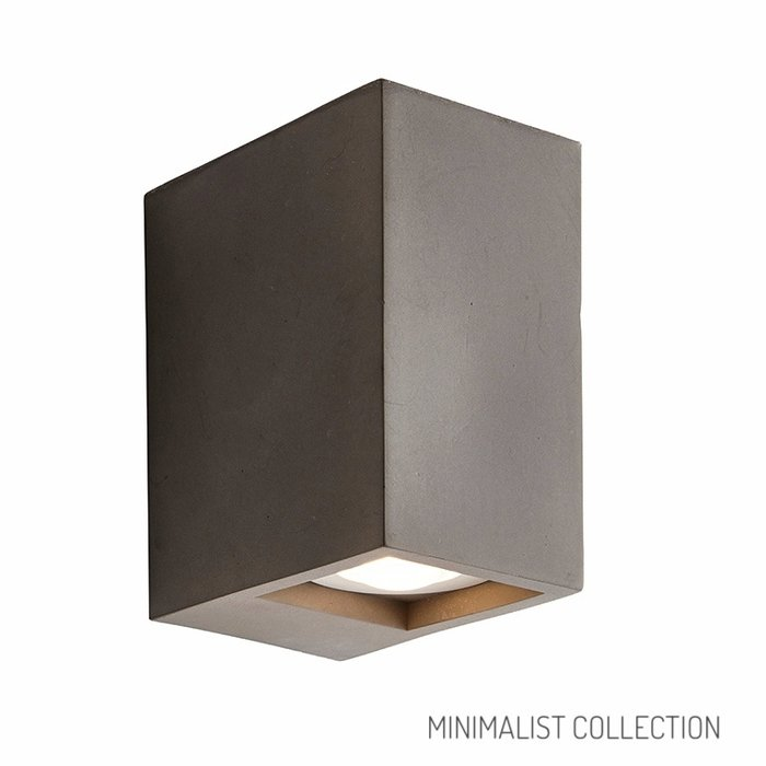 Tor - Concrete Minimalist Up & Down Wall Lights