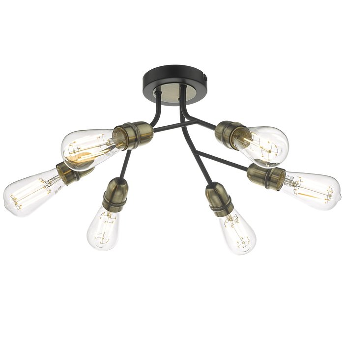 Renée - Low Ceiling Industrial Feature Light