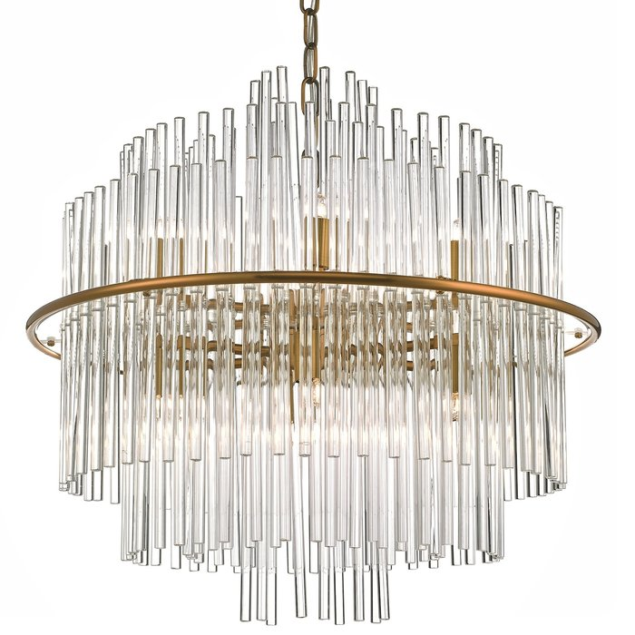 Luka - Floating Glass Rod Feature Light