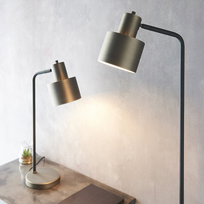 Parker - Industrial Reading Floor Lamp