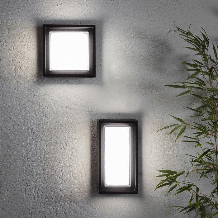 Frame - Modern Die Cast LED Outdoor Wall Light