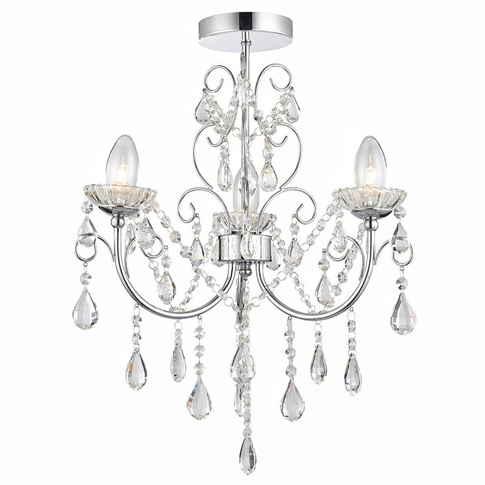 Tabby - 3 Light Bathroom Chandelier - IP44