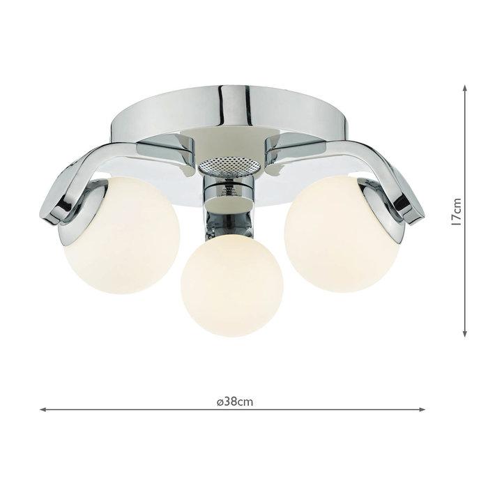 Musique - Bathroom Light with Integrated Bluetooth Speaker