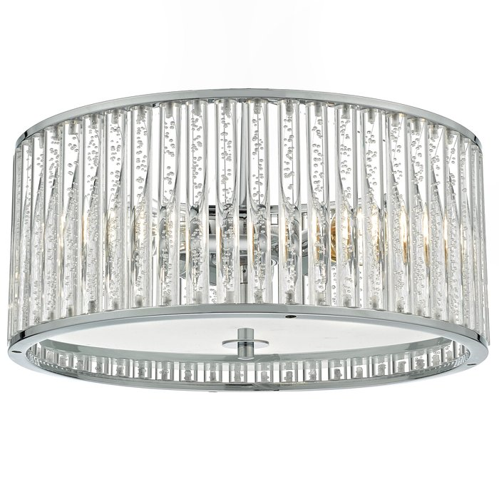 Seton- 4 Light IP44 Flush Ceiling Bathroom Light