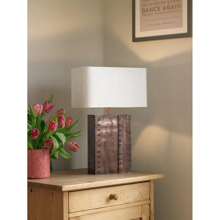 Rivet Table Lamp - David Hunt