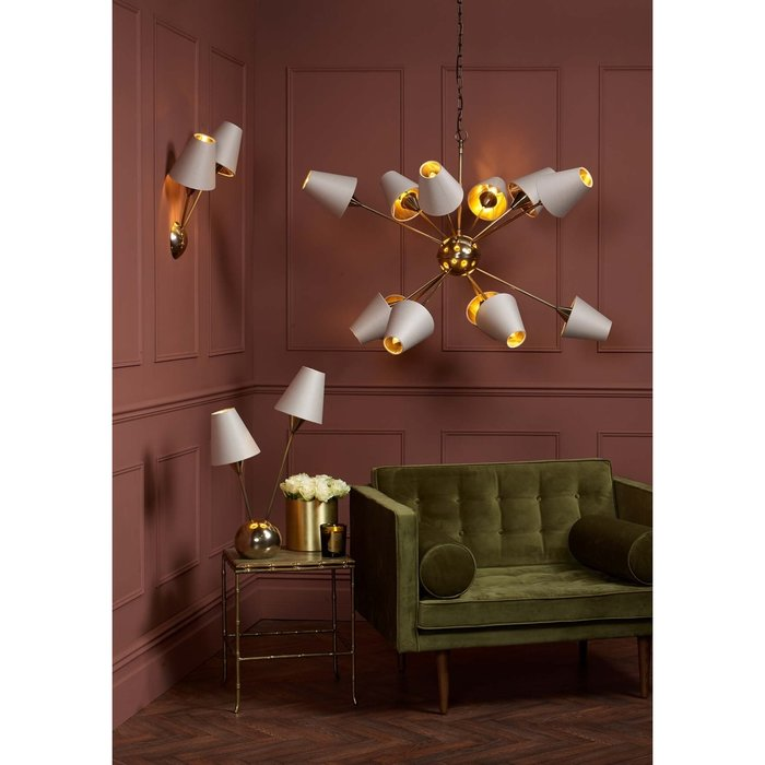 Sputnik Bronze Table Lamp  - David Hunt