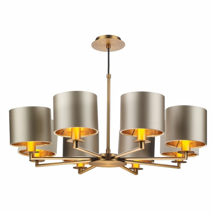 Rex - Modern Brass Chandelier - David Hunt
