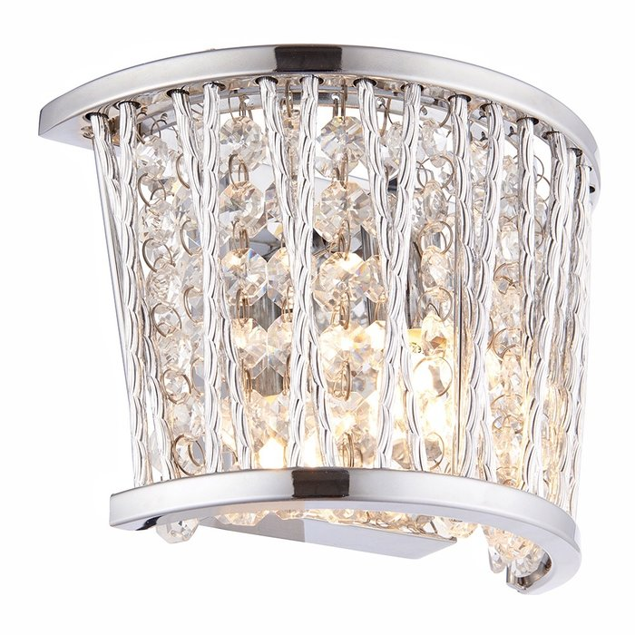 Glitz - Crystal & Chrome Wall Light
