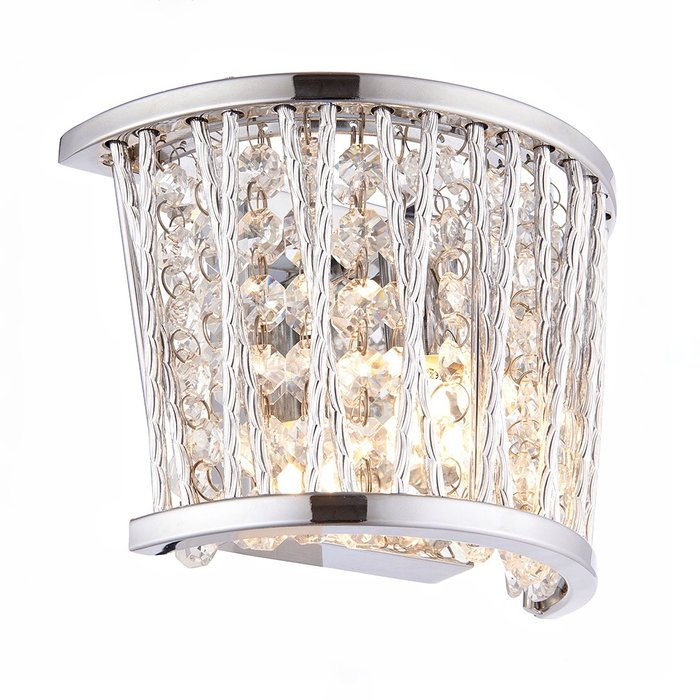 Glitz - Crystal & Chrome Wall Light