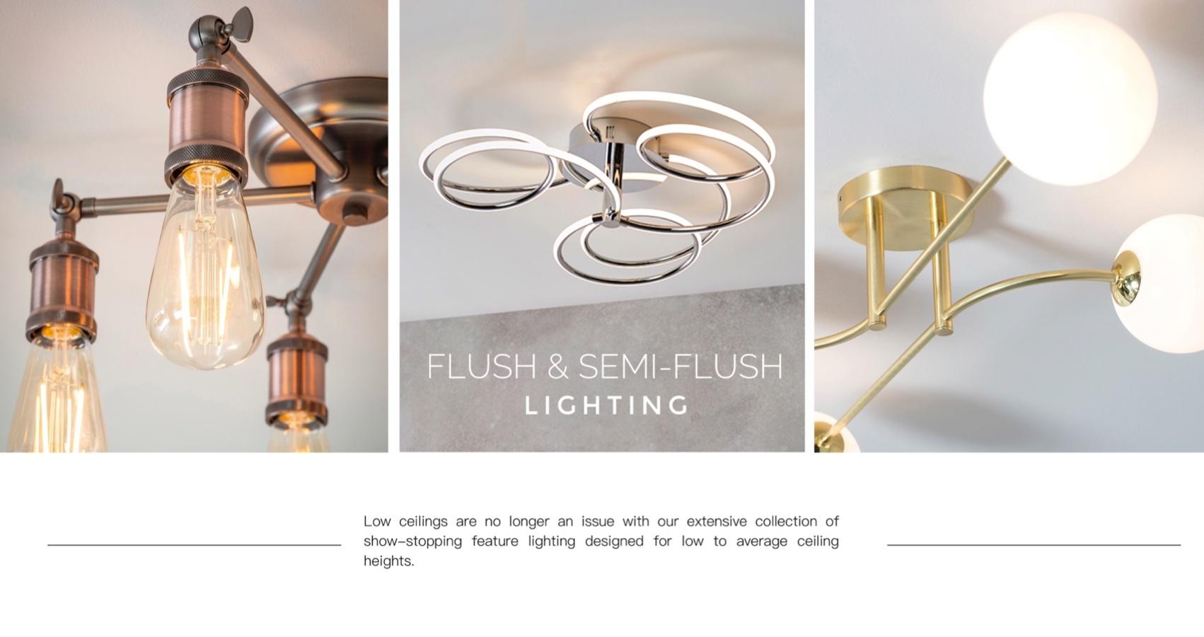 Flush & Semi Flush Lighting