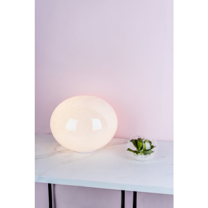 Pebble - Glass Globe Touch Table Lamp