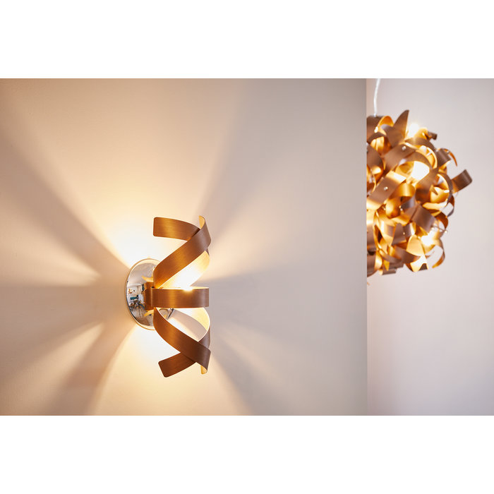 Ribbon Wall Light - Brushed Copper