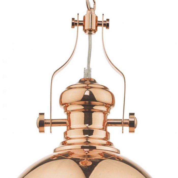 Arrow - Polished Copper Vintage Pendant