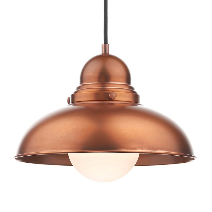 Diner - Retro Antique Copper Pendant
