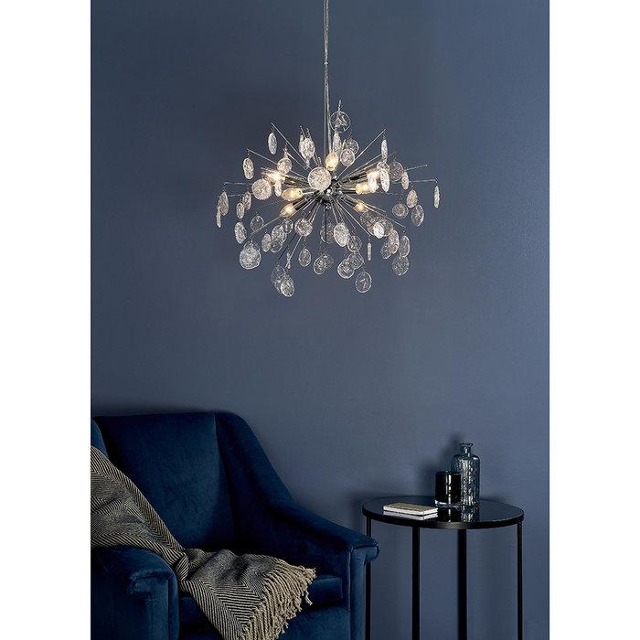 Kayla - Organic Glass Sputnik Feature Light