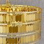 Eldorado - Reflective Chrome Drum Feature Light  - Gold