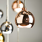Copper 15 Light  Bar Pendant - Copper, Dark Copper & Smoked Glass
