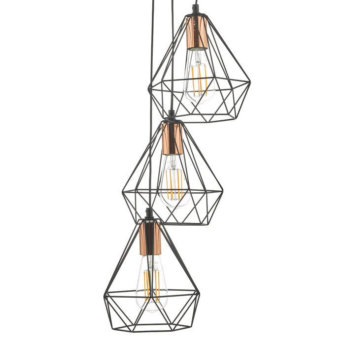 Deyo - Black Cage & Copper Cluster Light