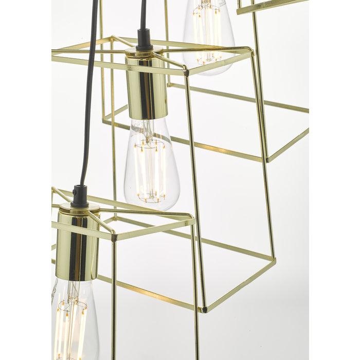 Tower - Gold Cluster Light