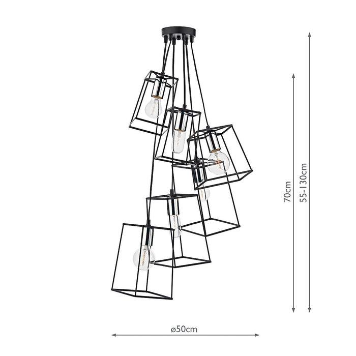 Tower - Matt Black & Chrome