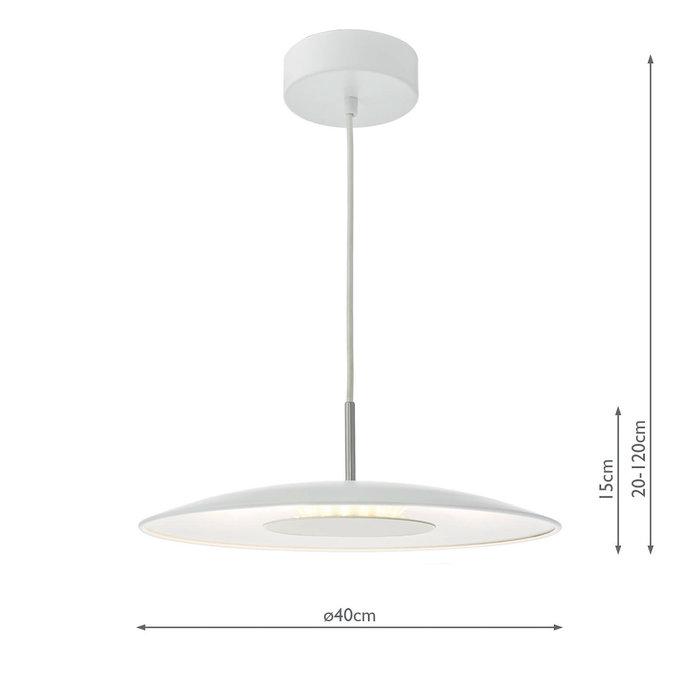 Enoch - Modern White LED Pendant