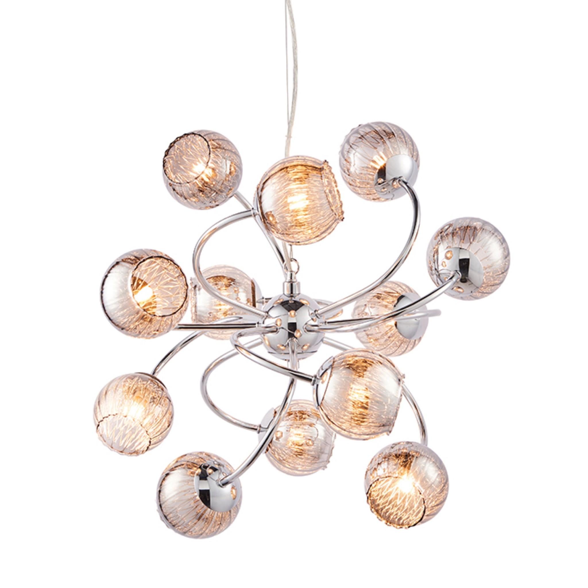 Sonny 12 Light Sputnik LED Chandelier