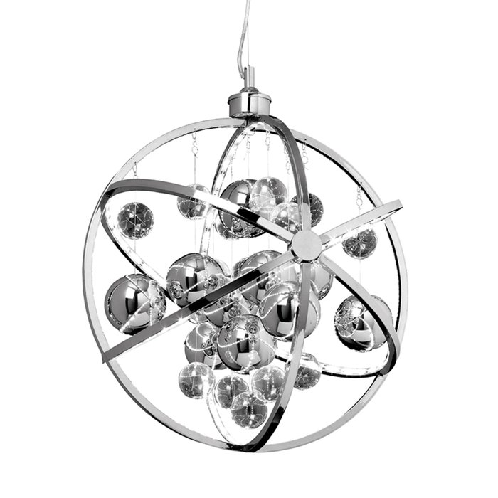 Orbital Pendant - LED- Polished Chrome