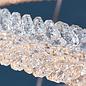 Ice Crystal - Triple Hoop LED Crystal Feature Light