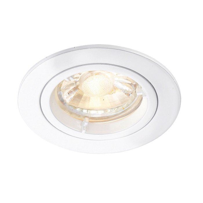 Matt White Recessed Fixed Spotlight