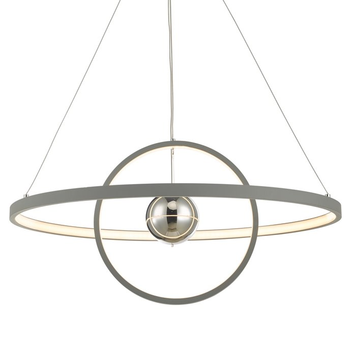 Radius - Matt Grey LED Feature Ceiling Light - Large