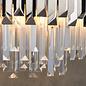 Caletta - Crystal Prism & Nickel Grand Chandelier