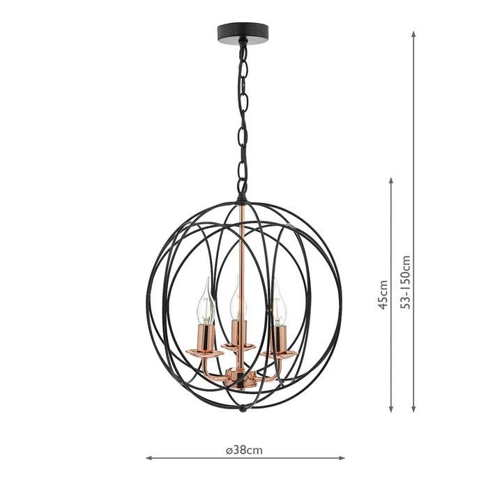 Phoenix - 3 Light Pendant