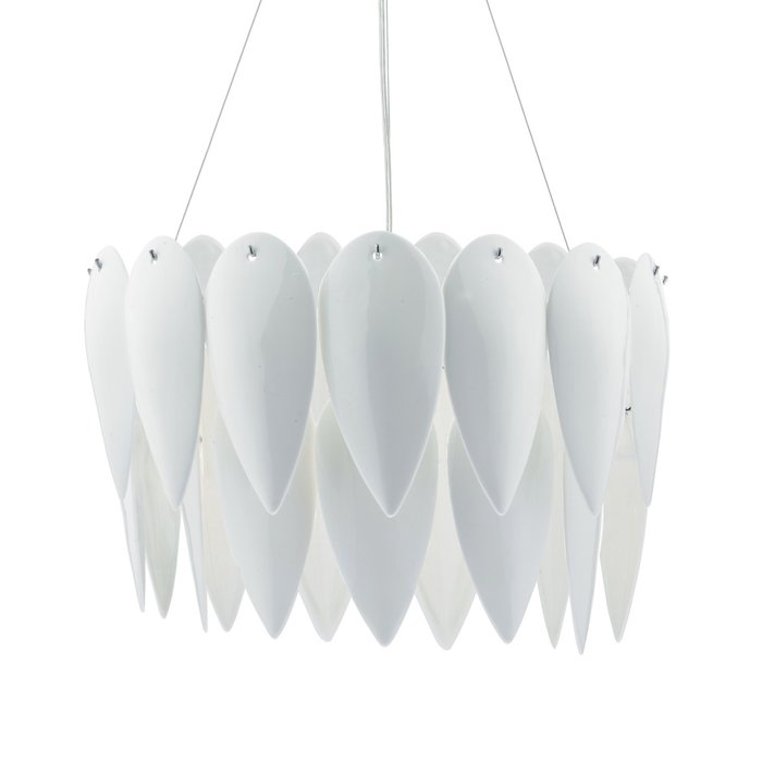 Phillipa - White Ceramic Pendant