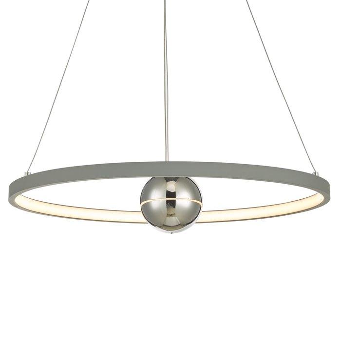 Radius - Matt Grey LED Feature Ceiling Light - Medium