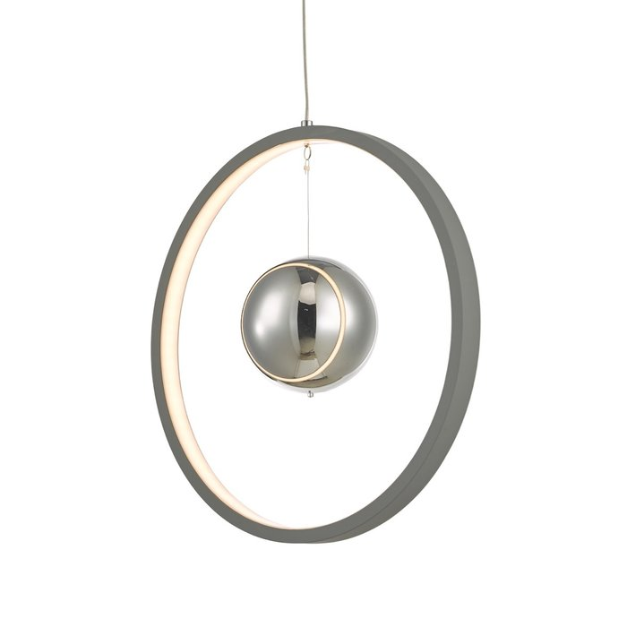 Radius - Matt Grey LED Feature Ceiling Light - Small