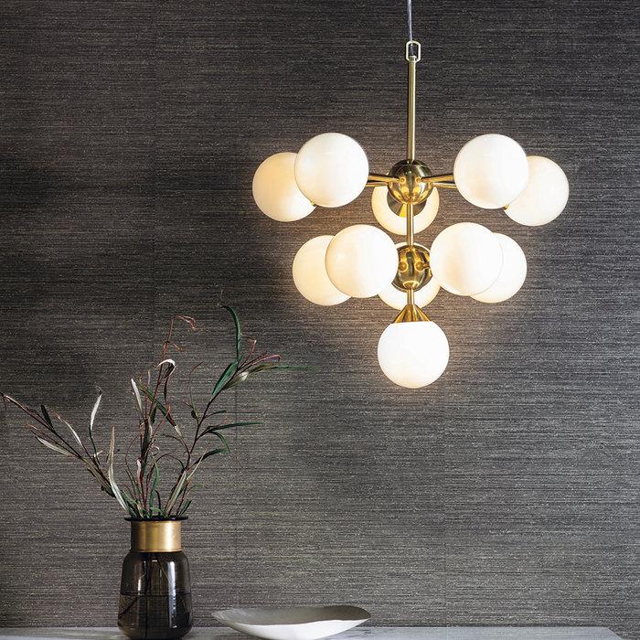 Arne - Mid Century Feature Light - Brushed Brass