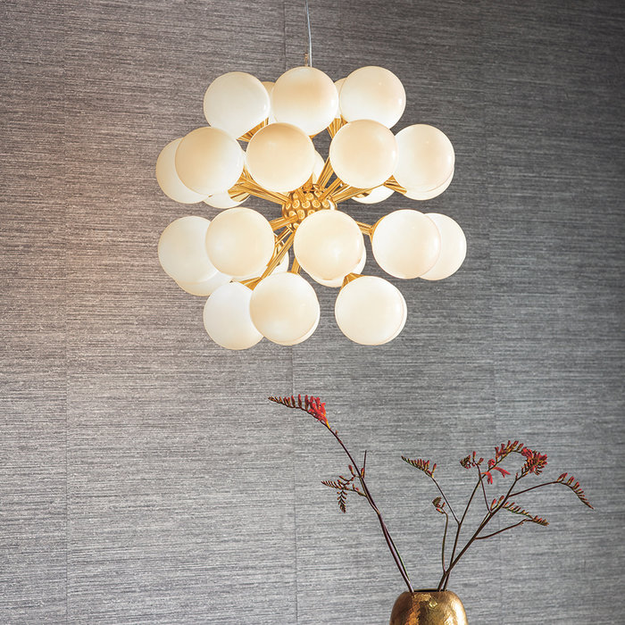 Marcel - Large Mid Century Feature Light - Brushed Brass