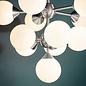 Arne - Mid Century Feature Light - Satin Nickel
