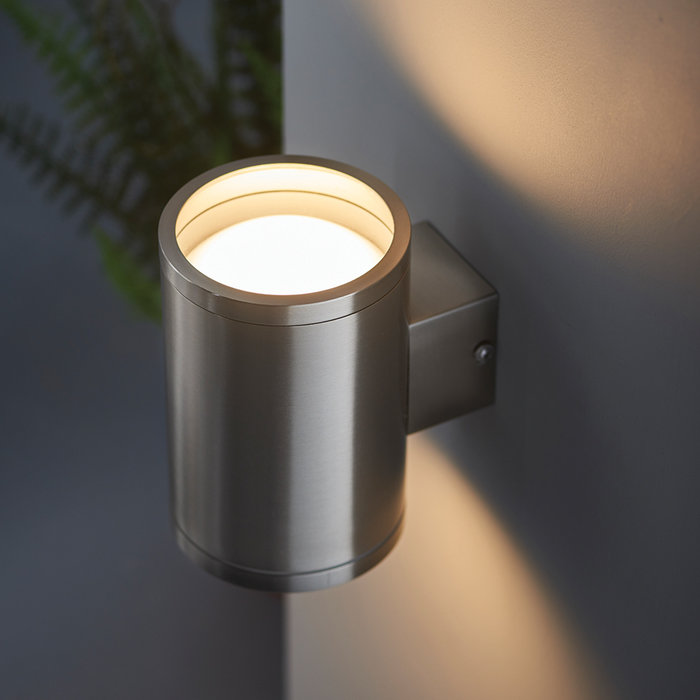 Deuce - Modern Architectural Outdoor Up and Door Wall Light