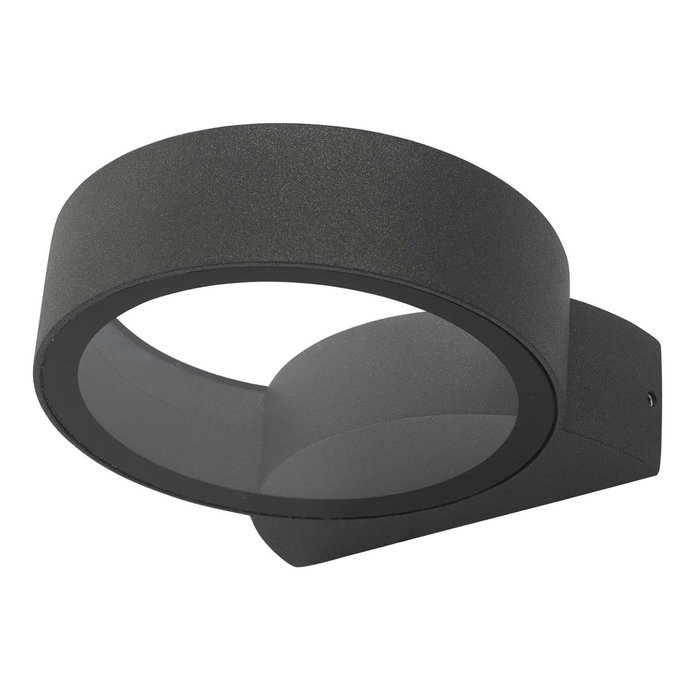 Reo - Modern Ring Outdoor LED Wall Light - Anthracite