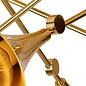 Swing - Musical Trombone  Semi-Flush Ceiling Light - Polished Gold Plating