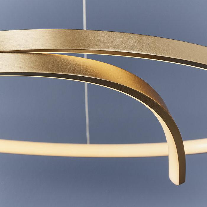 Raphael - Gold Band Minimalist Statement LED Light